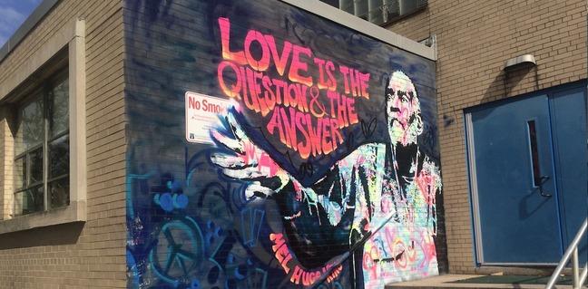 Mel Hugo King Mural 2