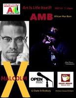 AiLi Live AMB Malcolm X Open Mic May19 2016
